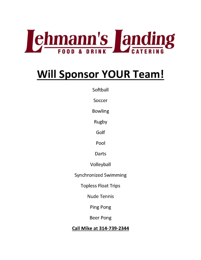 team sponsor