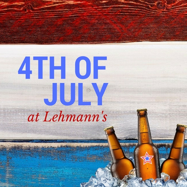 4th of july at lehmanns